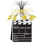 Movie Set Clapboard Centerpiece