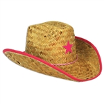 Child Cowboy Hat w/Star & Chin Strap