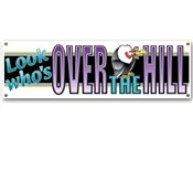 Over-The-Hill Sign Banner