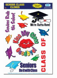 Senior Class Clings (11/sheet)