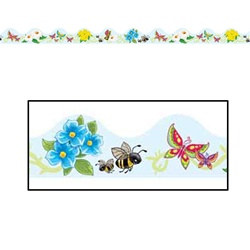 Butterflies, Flowers, and Bees Border Trim (12pcs/pkg)