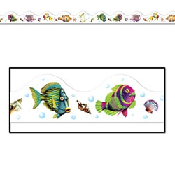 Sea-Life Border Trim (12pcs/Pkg) Total 37 feet