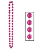 Pink Jumbo Party Beads (1/pkg)