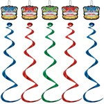 Chinese Lion Whirls (5/pkg)