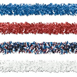 Patriotic Gleam N Fest Festooning Garland (Select Color)