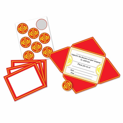 Asian Invitations and Seals