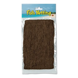 Brown Fish Netting
