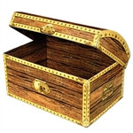 Treasure Chest Box, Medium
