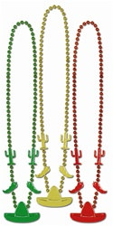 Fiesta Assorted Colors Beads (3/pkg)