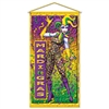 Mardi Gras Door/Wall Panel