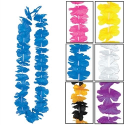 Silk N Petals Party Leis (Select Color)
