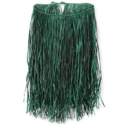 Value Raffia Hula Skirt (Adult Green)