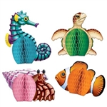Sea Creatures Centerpieces (4/pkg)