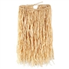 Deluxe Raffia Natural Hula Skirt (Select Size)