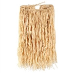 Child Deluxe Raffia Hula Skirt (Natural)