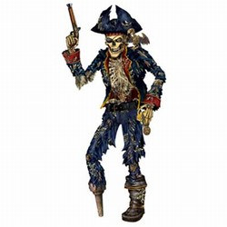 Jointed Pirate Skeleton
