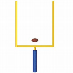 Jointed Goal Post