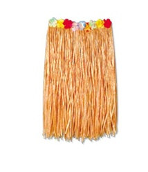 Child Artificial Grass Hula Skirt (Natural)