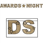 Glittered Awards Night Banner