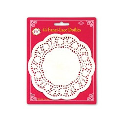 Lace White Paper Doilies 5½in  (44/Pkg)
