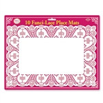 White Lace Place Mats (10/pkg)