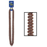 Brown Party Beads