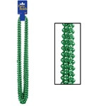Green Party Beads (12/pkg)