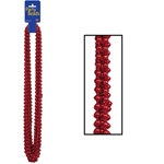 Red Party Beads (12/pkg)