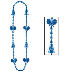 Blue Cheerleading Beads (1/pkg)