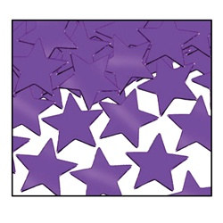Purple Fanci-Fetti Stars