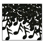 Black Music Notes confetti
