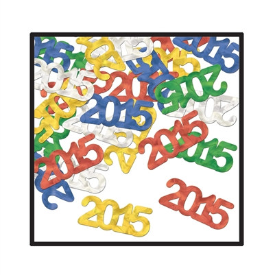 2015 Multi-Color Confetti