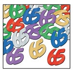 "Fanci-Fetti ""65"" Silhouettes, 1/2 Ounces/Pkg, Multi-Color"