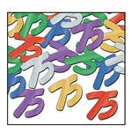 "Fanci-Fetti ""75"" Silhouettes, 1/2 Ounces/Pkg, Multi-Color"