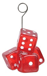 Dice Photo/Balloon Holder
