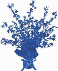 Blue Star Gleam 'N Burst Centerpiece