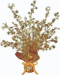 Gold Star Gleam 'N Burst Centerpiece