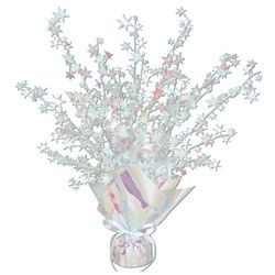 Opalescent Star Gleam 'N Burst Centerpiece