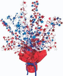 Red, White, and Blue Star Centerpiece