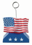 USA Flag Centerpiece Balloon/Photo Holder