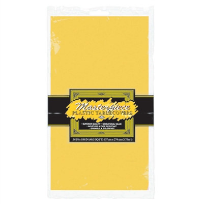 Rectangular Tablecover - Golden Yellow