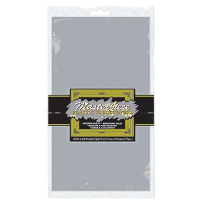Rectangular Tablecover - Silver
