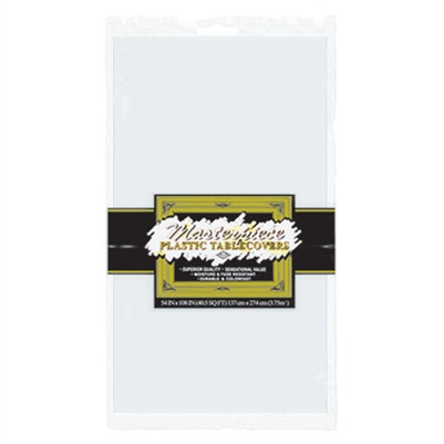 Rectangular Tablecover - White