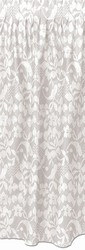Lace Table Skirting - White