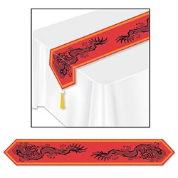 Printed Asian Table Runner