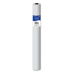 White Tablecover Roll- 40 in x 100 ft (1/pkg)