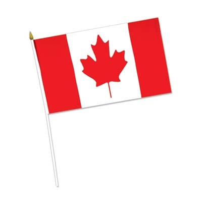 Rayon Canadian Flag (4 in x 6 in)