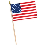 Rayon American Flag (11 in x 18 in)