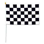 Rayon Racing Flag (11 in x 18 in)