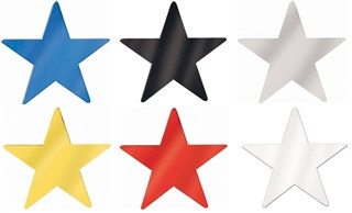 Blue Foil Star 20 inch - (Choose Color)